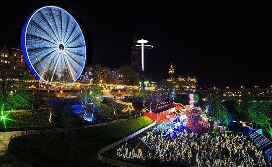 Edinburgh Christmas Markets - 2 Days from just £99pp!