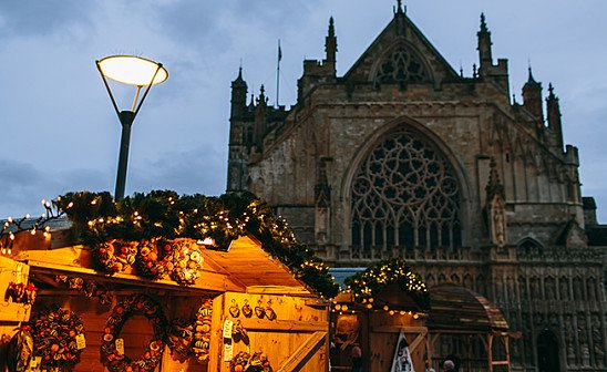Exeter Christmas Market - 3 Days from just £119pp!