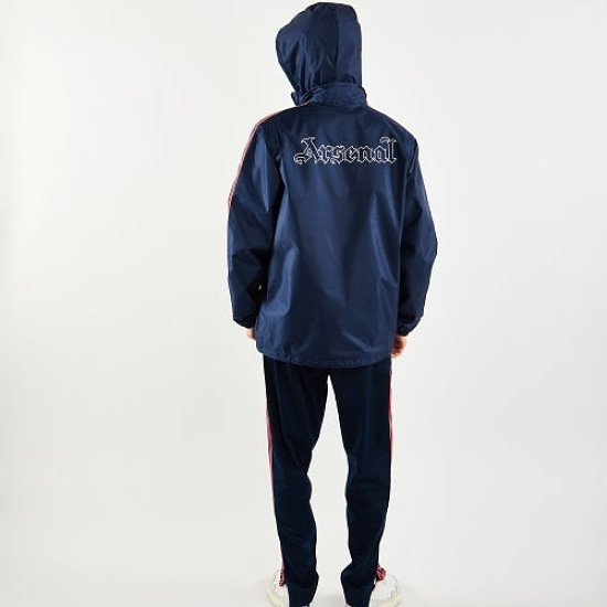 The Navy adidas Arsenal Lightweight Jacket is just £84.99!