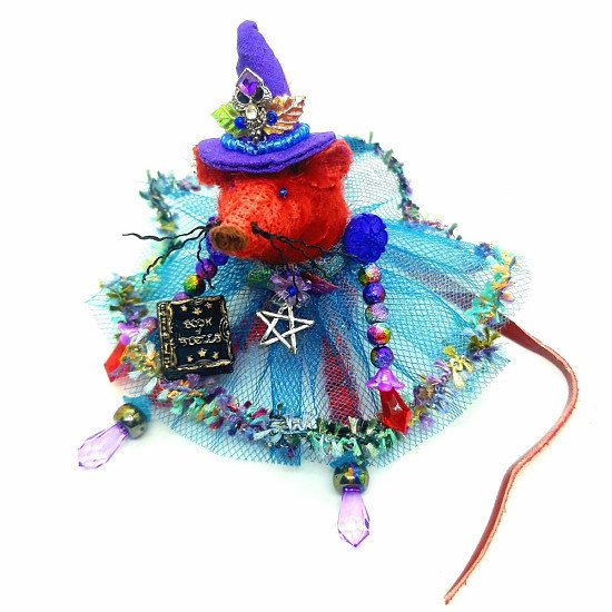 SALE - THE SPELLCASTER WITCH MOUSE
