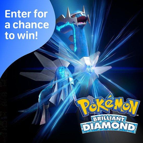 WIN a copy of Pokémon Brilliant Diamond