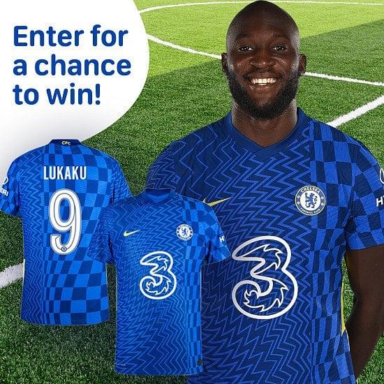 WIN a Lukaku Chelsea FC Home Shirt