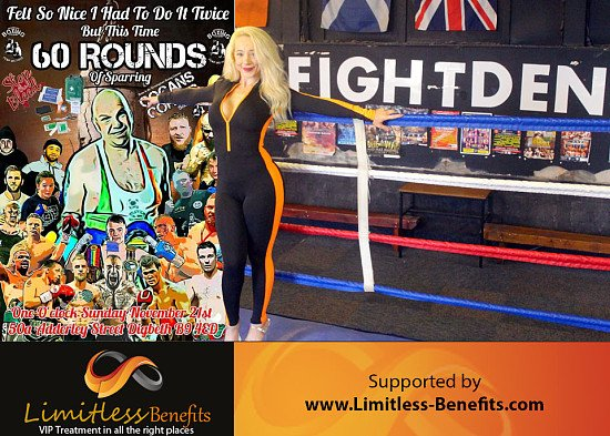 Win 2 free tickets to a Charity Event Stop the Bleed with Limitless Benefits Ring Girls Birmingham