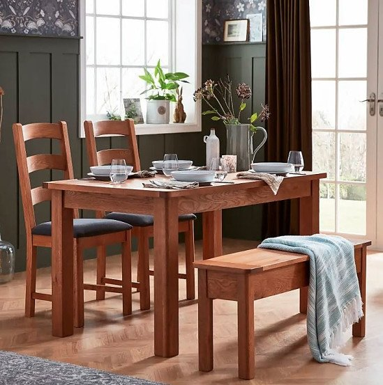 NEW ARRIVAL - Norbury Dining Chair - Set of 2 - Oak!