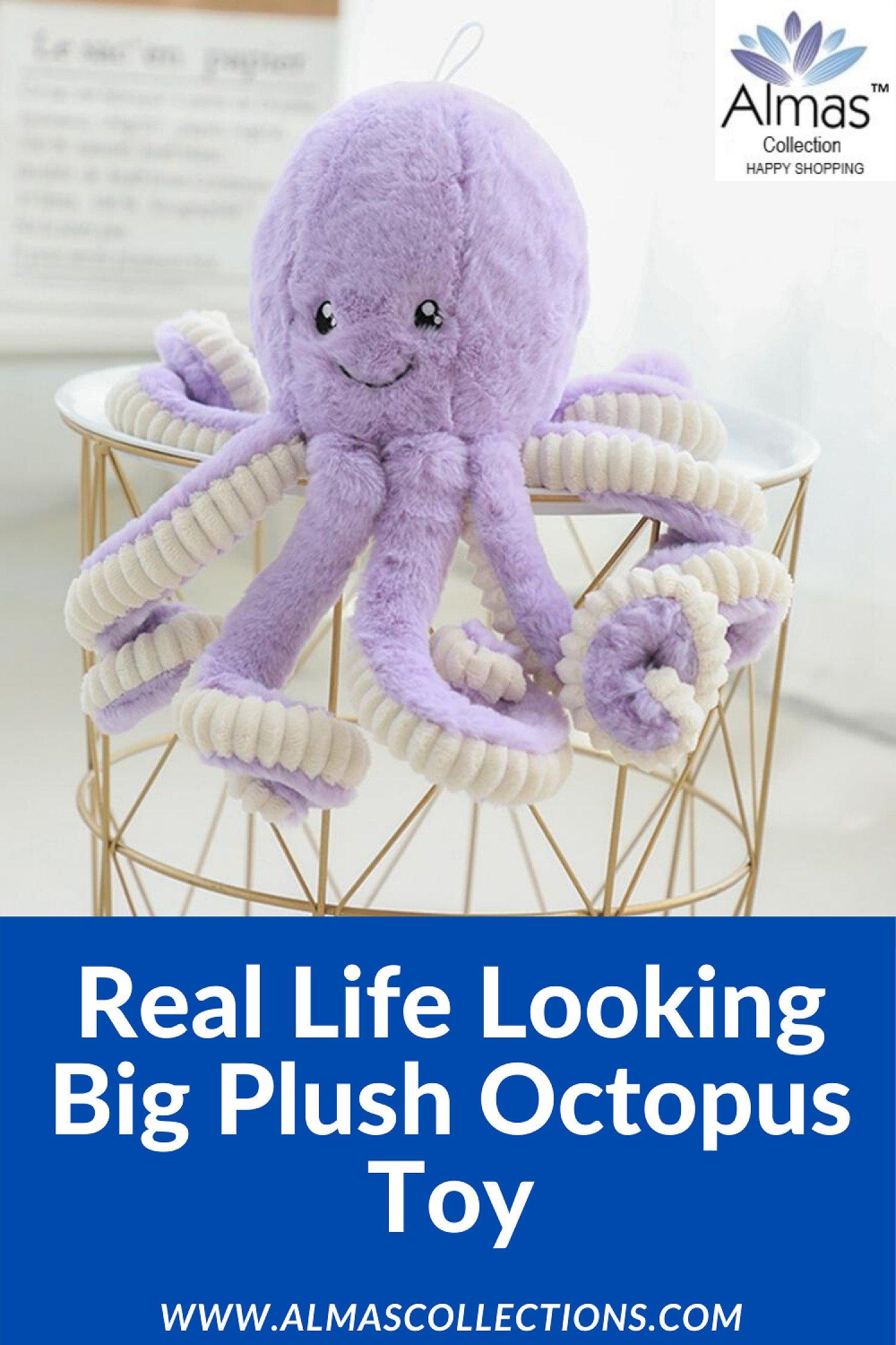 Big Super Plush Cute Octopus Toy