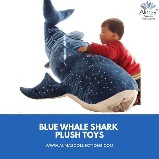 New Blue Whale Shark Plush Toys