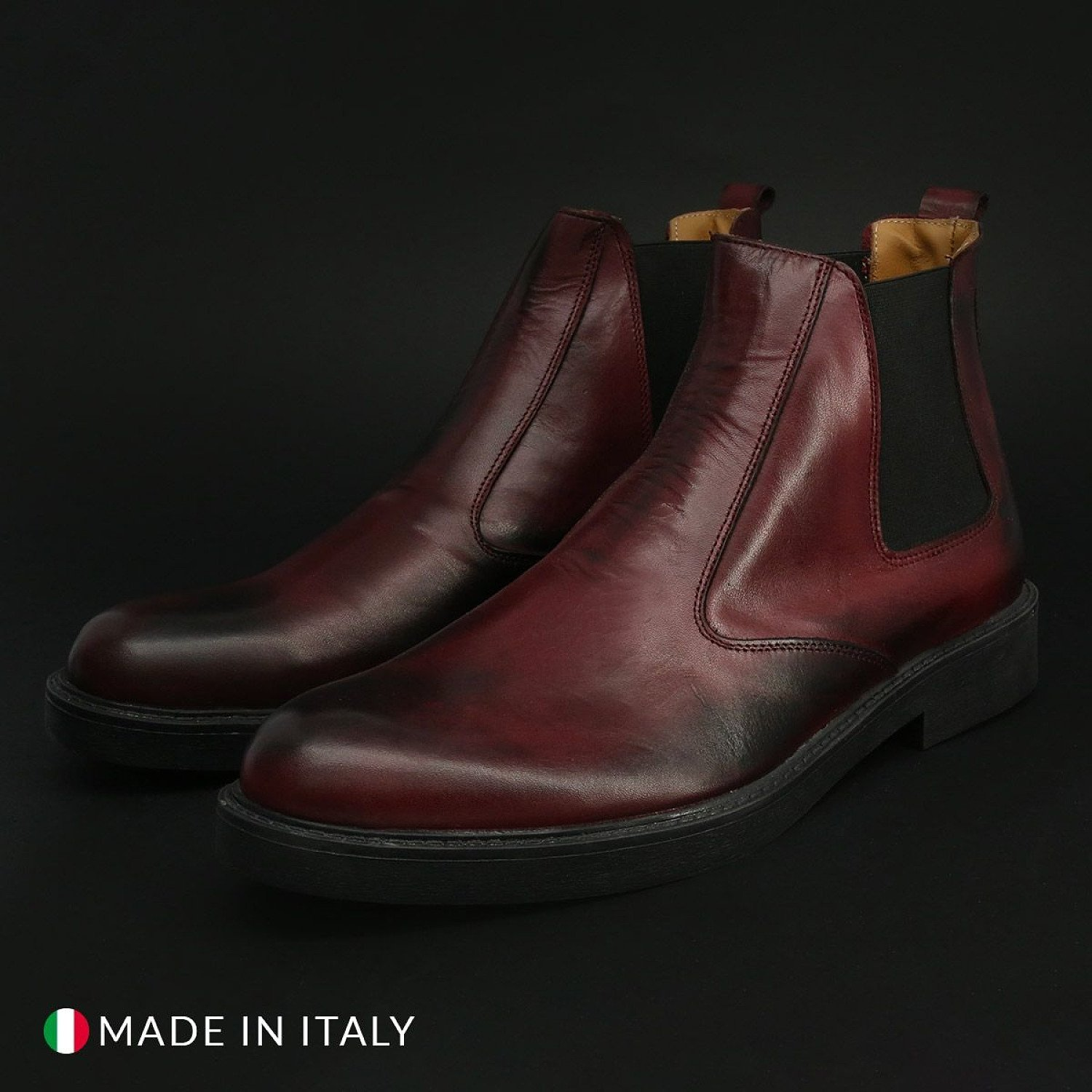 Save 50% On This Men's Duca di Morrone – 100_COSOVARO – Red Shoe at Special Offer With Free Delivery