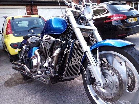Motorcycle Polish Detail