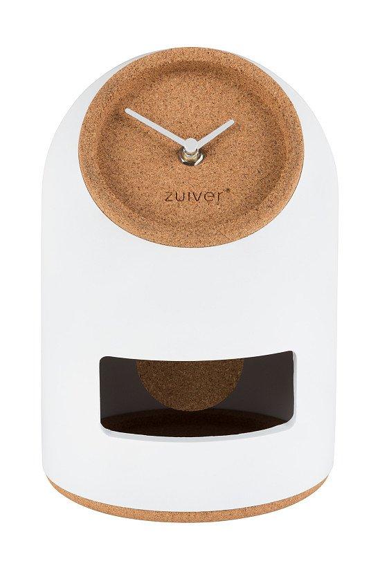 SAVE - Zuiver Uno Pendulum Clock in White