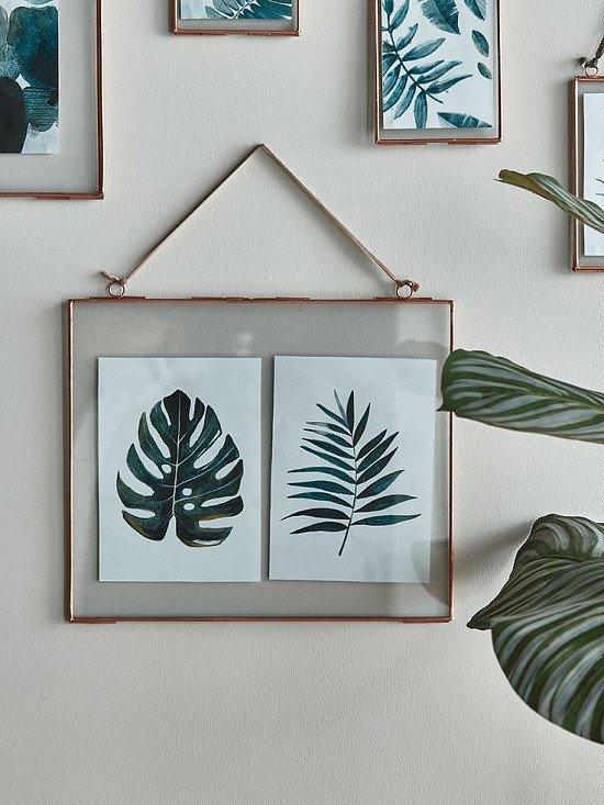 SAVE - Delicate Landscape Frame - Copper