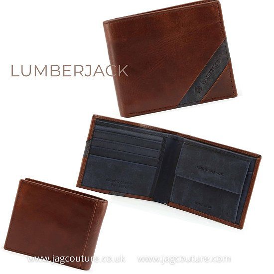LUMBERJACK - HUNT_LK1807     WALLET FOR MEN