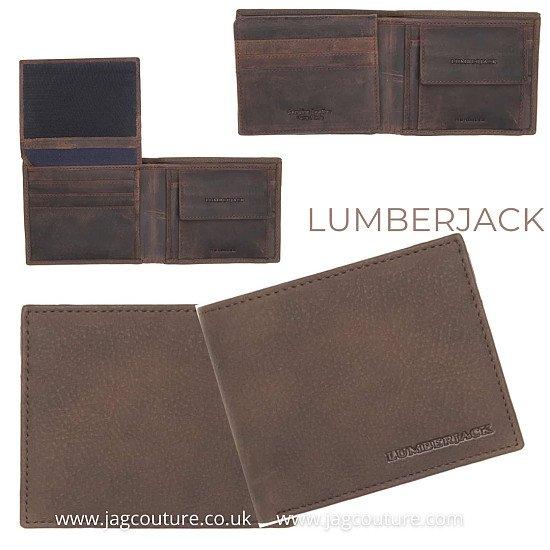 LUMBERJACK  YUKON_LK1412 BROWN    WALLET FOR MEN