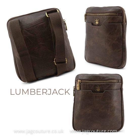 LUMBERJACK STYLISH & TRENDY DESIGNER MEN'S ACROSS-BODY BAG