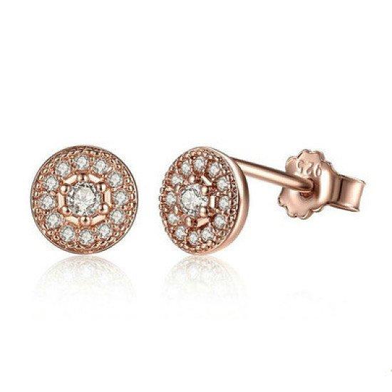 Silver Radiant Elegance Stud Earrings - £9.89 was £29.00