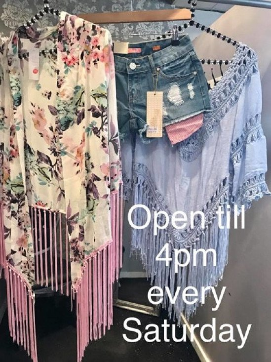 Come down and see what we have in store - Open till 4pm every Saturday