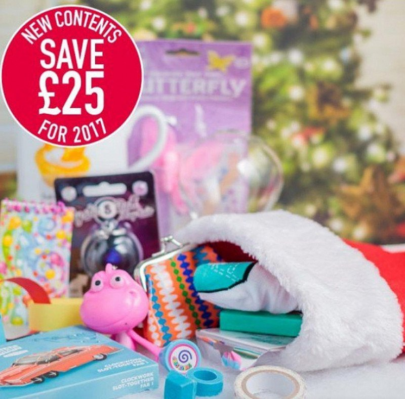 SAVE £25 on this Girls Christmas Stocking 14+!