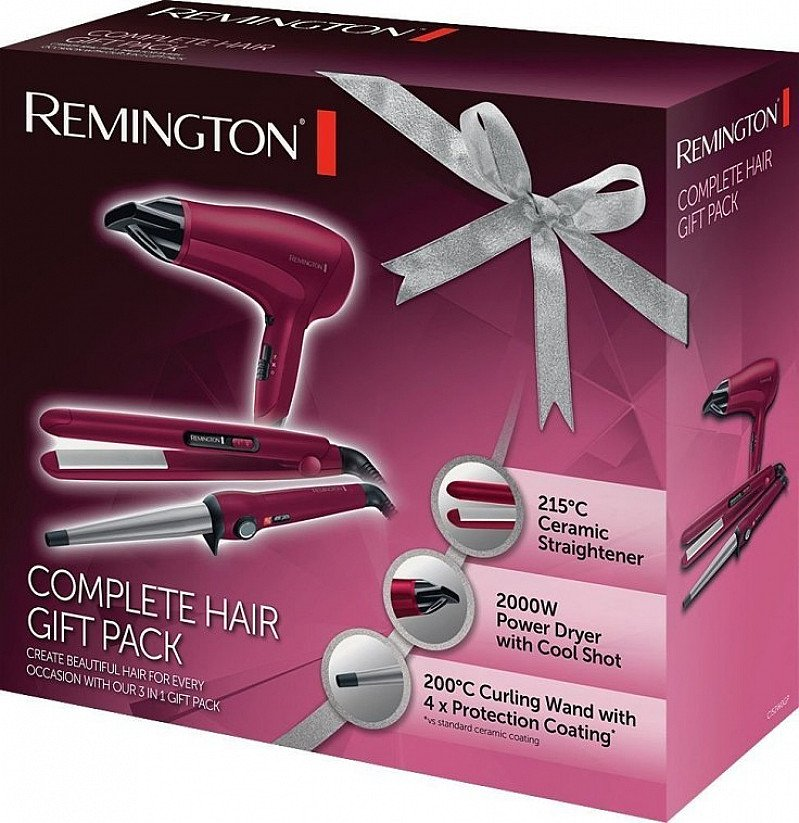 Remington Three-Piece Hairstyling Set - JUST £29.99!