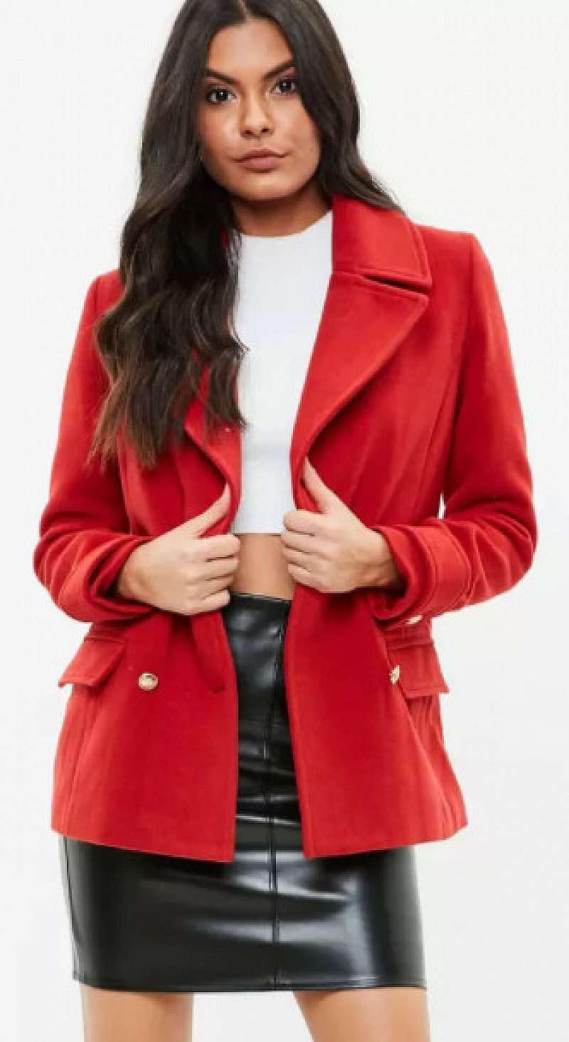 30% OFF Coats & Jackets and 25% OFF Gifts - Including this Red Military Coat only £55.00!