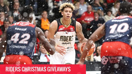 Win 2 Tickets to Riders in action on Friday 8th December!