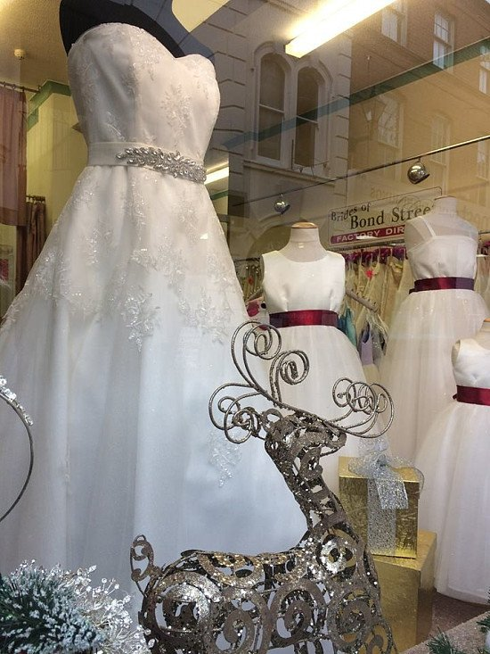 Looking for a Wedding Dress?  Welcome to Brides of Bond Street