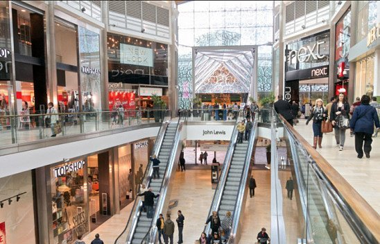 SALES NOW ON at the Highcross Shopping Centre in Leicester