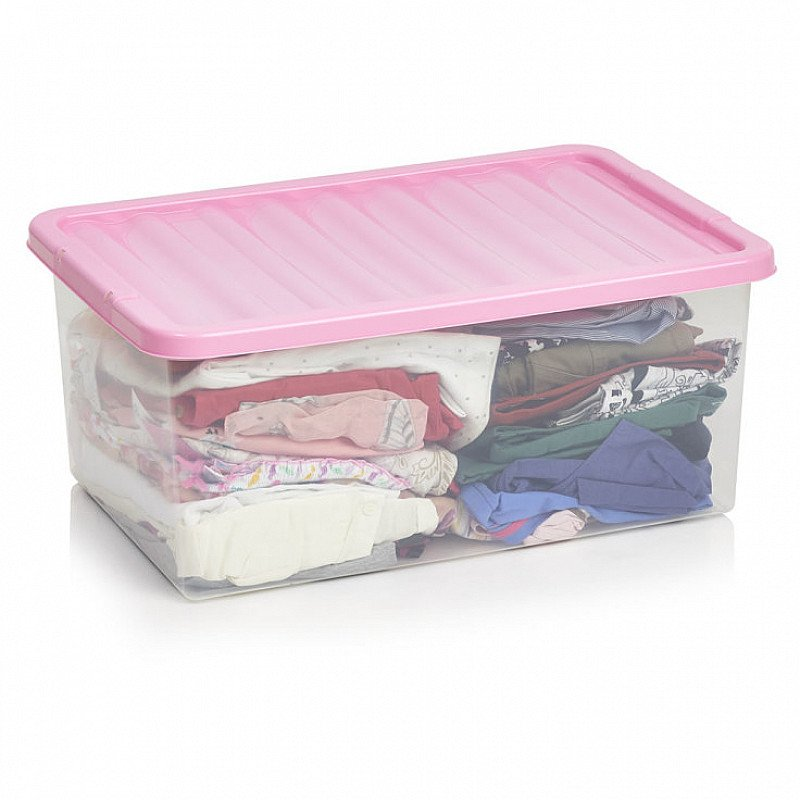45 litre underbed storage with clip lid Now only £5!