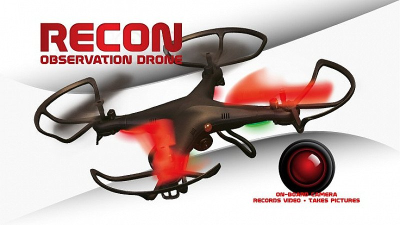 SAVE £60.00 - Recon Observation Drone capturing pictures and videos from the sky!