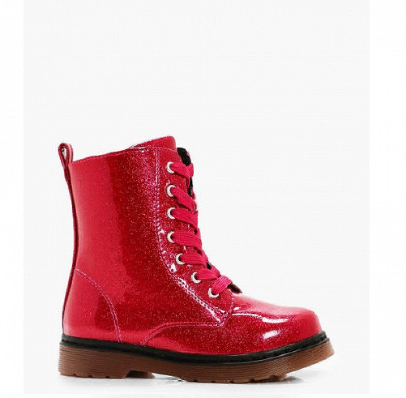 30% OFF Kids Clothing - Inc. Girls Glitter Lace Up Hiker Boot!