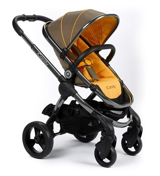 iCandy Peach Pushchair With Space Grey Chassis - Honeycomb; SAVE £30.00!