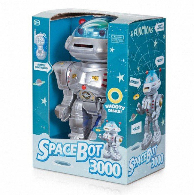 The Huge Hawkin Sale - SPACEBOT 3000 Children's Toy SAVE £10.01