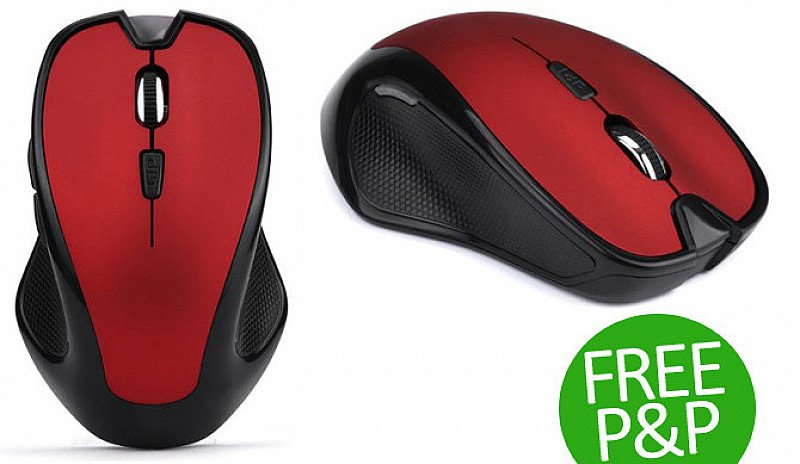 Save £11 on this Wireless Computer Mouse with free delivery included