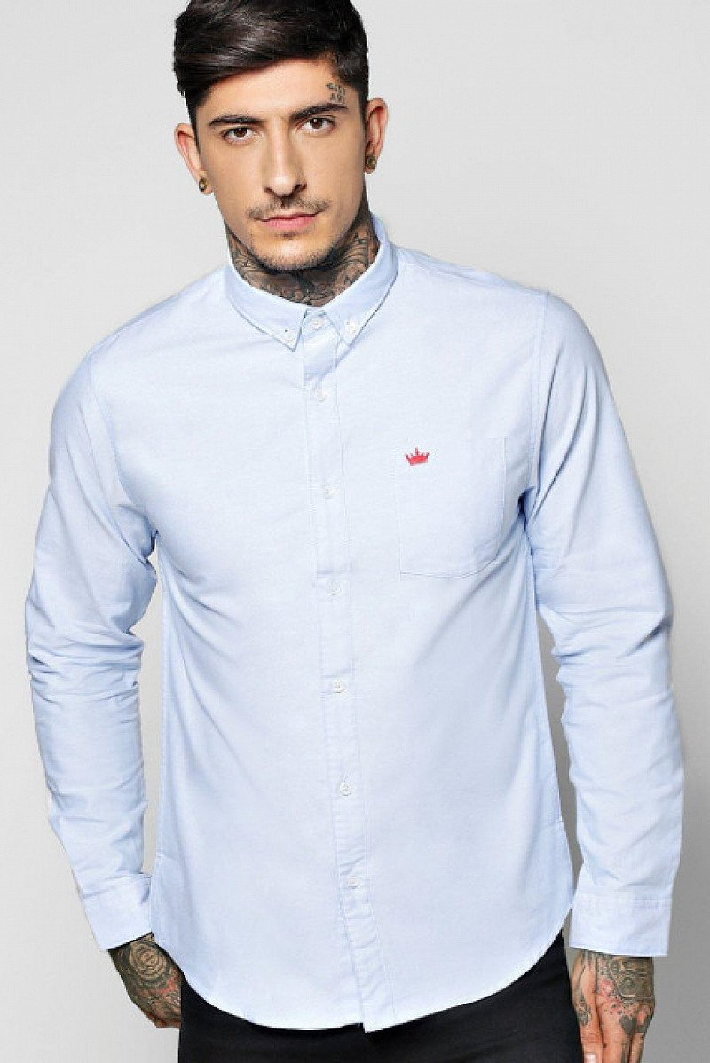 Save 50% on this Long Sleeve Oxford Shirt