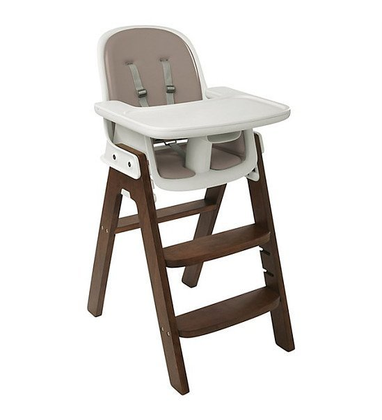 OXO Tot Sprout Highchair - Taupe & Walnut SAVE £10.00!