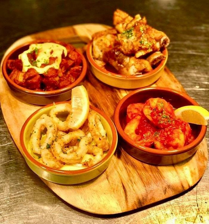 Mediterranean Sundays - 8 Tapas Dishes and a Bottle of Wine for only £40 - Every Sunday!