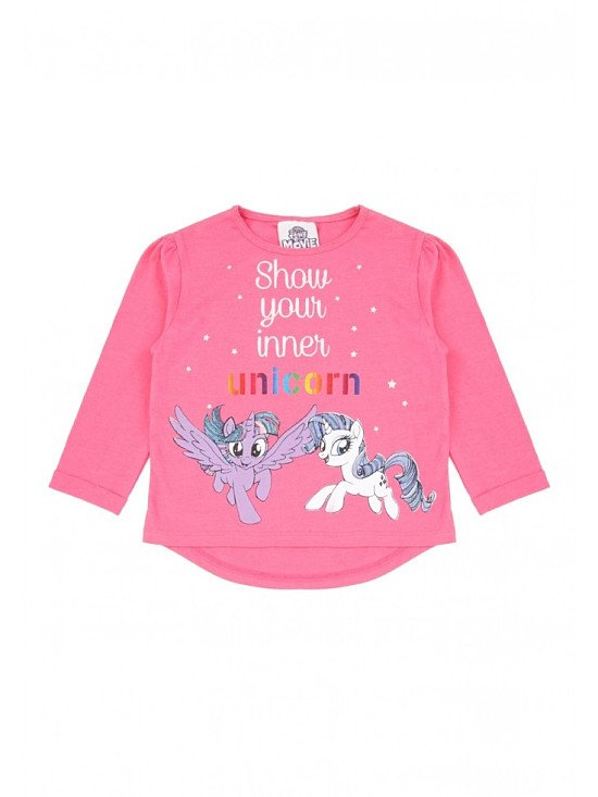 Younger Girls My Little Pony Slogan Top Now Only £4