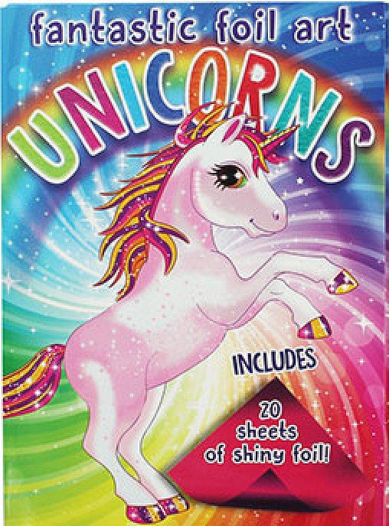 Fantastic Foil Art Unicorns Now 62% Off RRP