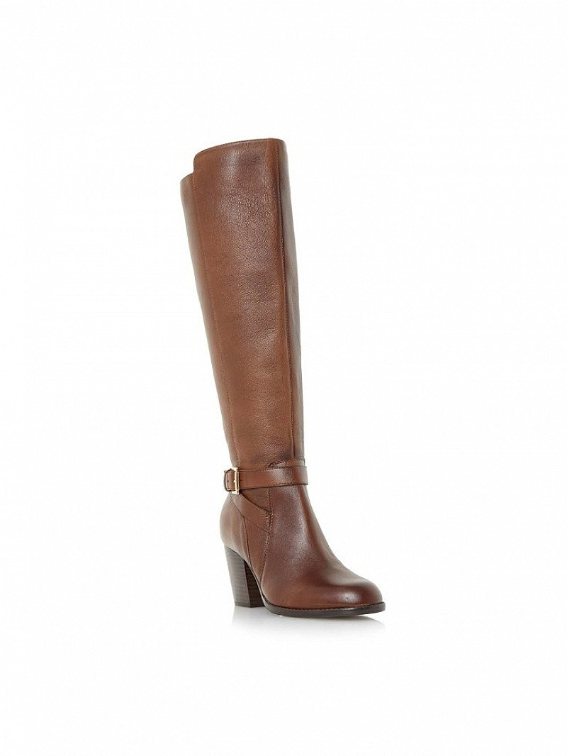 Save £40 on these Linea Tessa Buckle Detail Knee High Boots