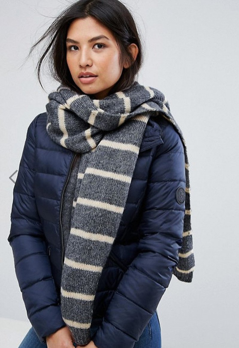 Save £9 on this Vero Moda Knitted Stripe Scarf
