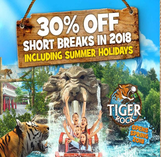 30% OFF CHESSINGTON SHORT BREAK IN 2018