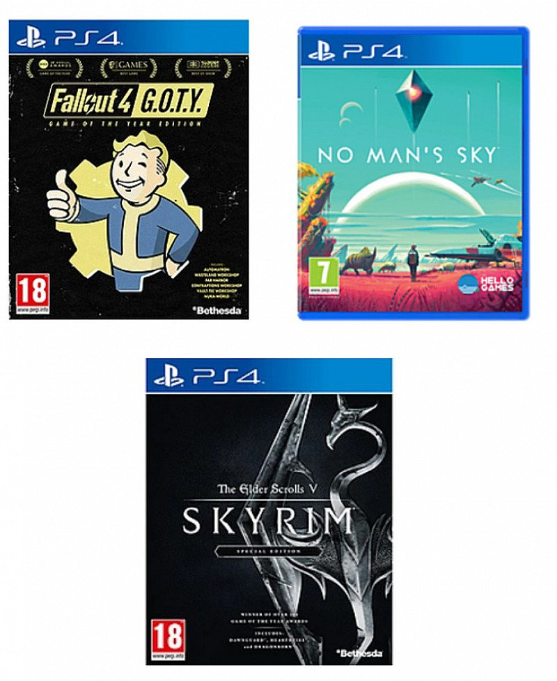 2 for £40 on Selected Games