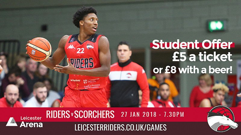 Student Offer - £5 Tickets