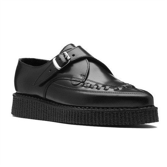NEW Creepers Pointed Toe Buckle Fastening - £85.99
