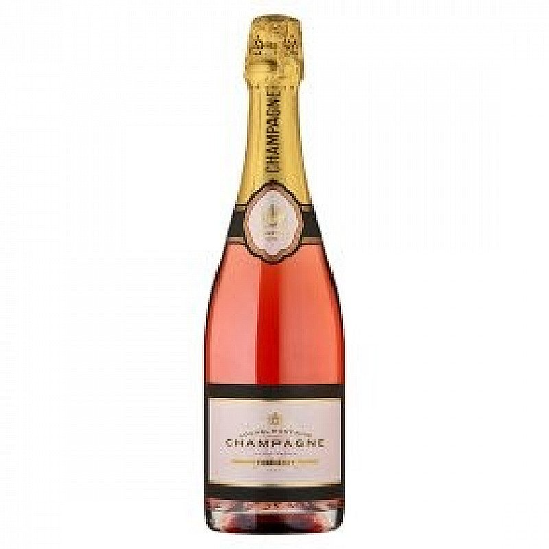 Get Valentines Day ready - Hover to zoom Louvel Fontaine Champagne Rose Brut £22!