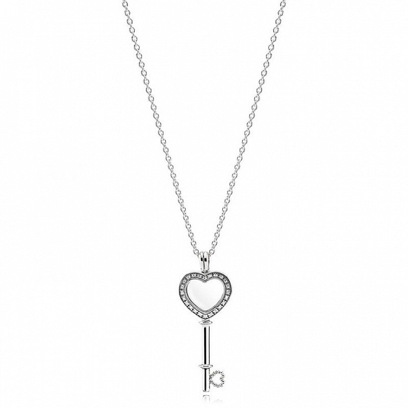 View our 'Explosion of Love' Collection - Including this Heart Key Locket Necklace £120!
