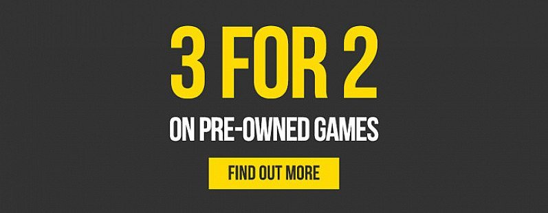 Shop 3 for 2 on pre-owned games - Including No Man's Sky!