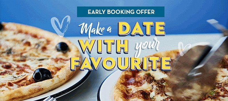Valentines Day - Enjoy a FREE bottle of Prosecco when you book before the 8th February!