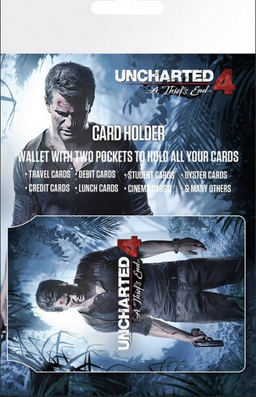 SALE - UNCHARTED 4 KEYART CARD HOLDER: £1.50!