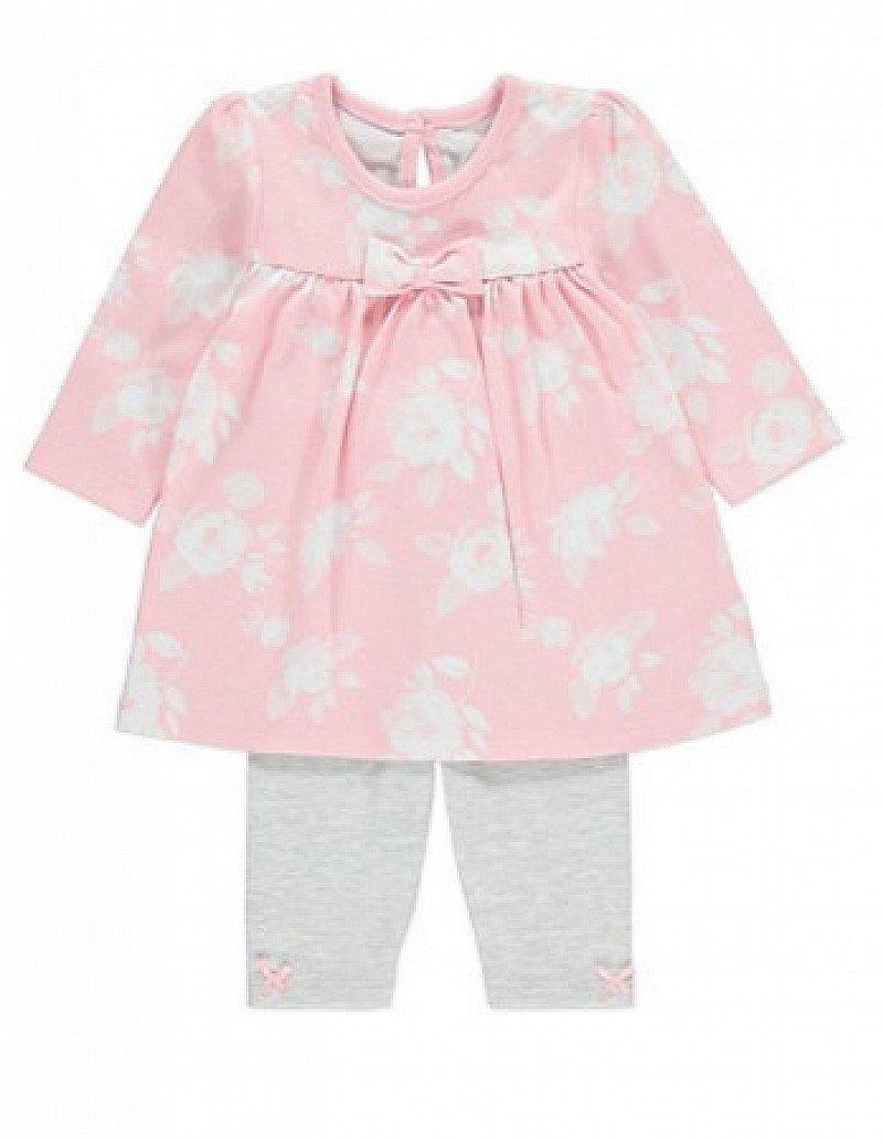 SALE - Floral Dress and Leggings Set: SAVE £2.00!