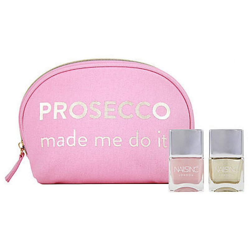 REDUCED TO CLEAR - Nails Inc Prosecco Made Me Do It Nail Gift Set: SAVE £10.00!