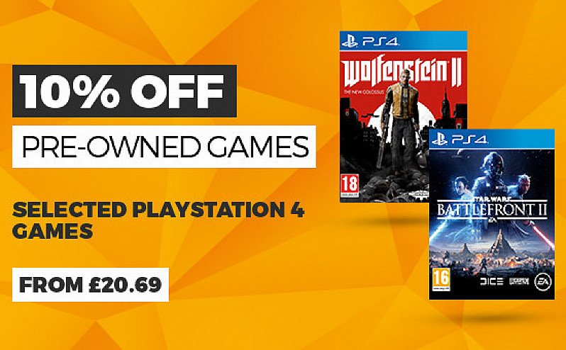 10% OFF Pre-Owned Games!